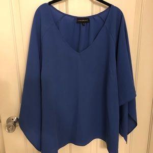 Periwinkle Blue Lane Bryant Blouse size 26/28